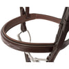 Huntley Equestrian Fancy Stitched Square Raised Padded Noseband