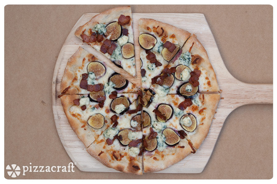 Blue Cheese, Bacon & Fig Pizza Recipe