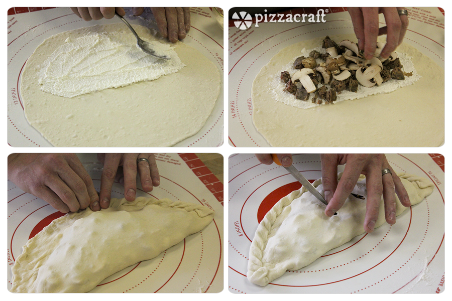 Making Calzones by Hand