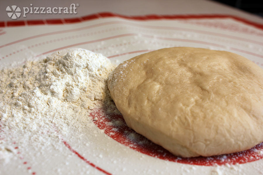 Pizza Dough and Flour