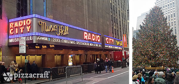 Radio City Music Hall in New York City