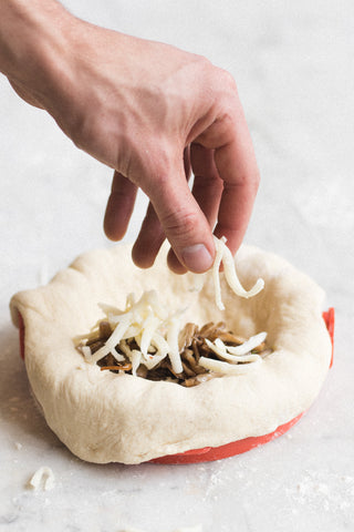 Homemade Calzone Dough Press