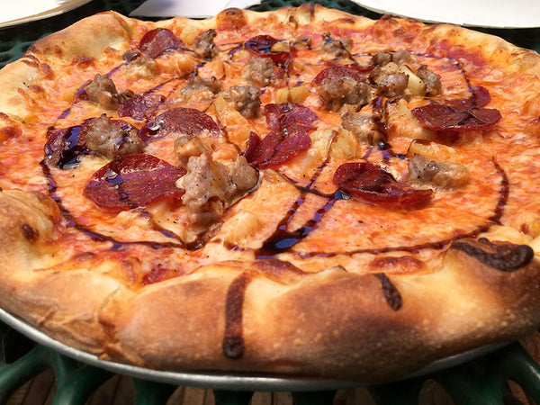 Pizzahhh's Special #1 With Sausage and Garlic