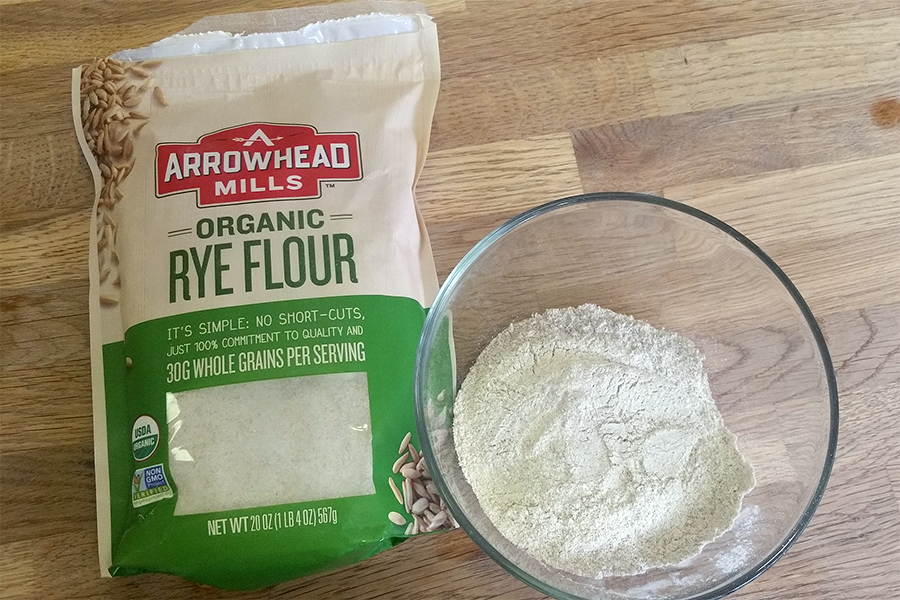 Sourdough Starter Ingredients