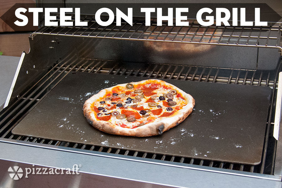 Pizza Steel On the Grill