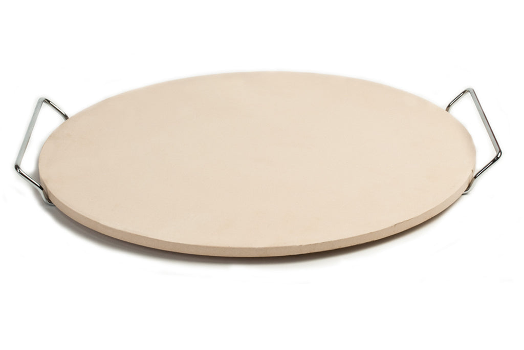 Ceramic Pizza Stone With Wire Frame Pizzacraft