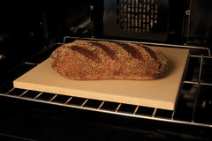 "Bread Baking on a 15"" Square Cordierite Pizza Stone"