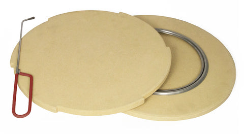 Rotating Pizza Stone Set