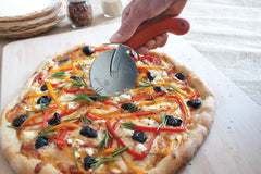 Slicing Pizza with the Rolling Pizza Cutter