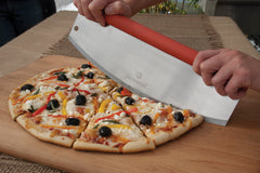 Slicing Pizza with the Rocking Pizza Cutter