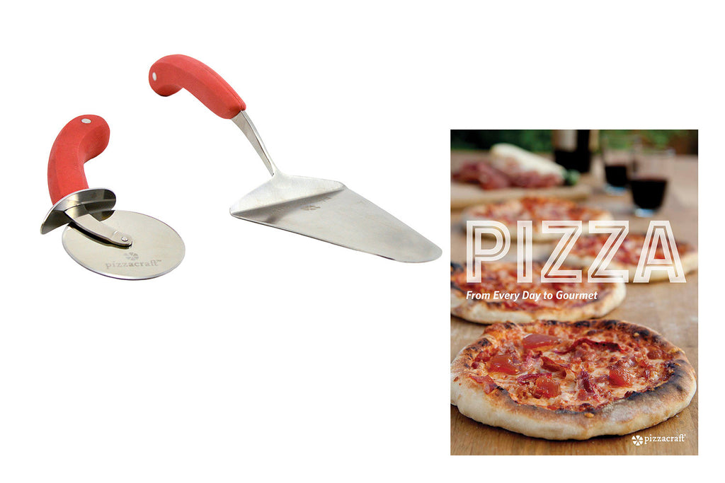 Pizza Slicer, Pizza Server & Pizza Cookbook
