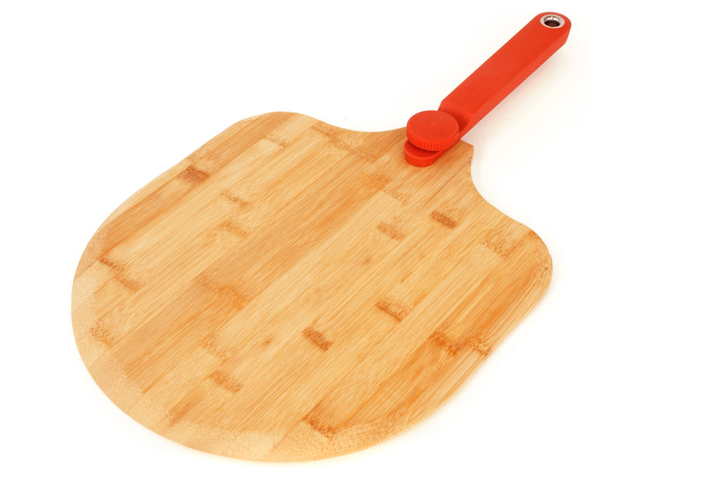 "12"" Folding Bamboo Pizza Peel"