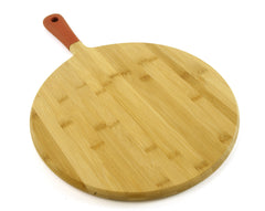 "13.5"" Round Bamboo Cutting Board"