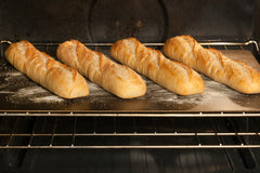 "Baking Multiple Bread Loafs on a 22"" Rectangular Baking Steel"