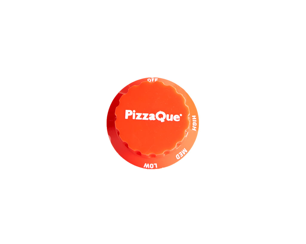 Pizzaque Knob, Red