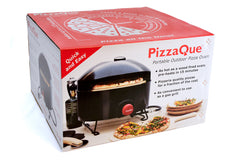 Packaging for the PizzaQue Portable Pizza Oven
