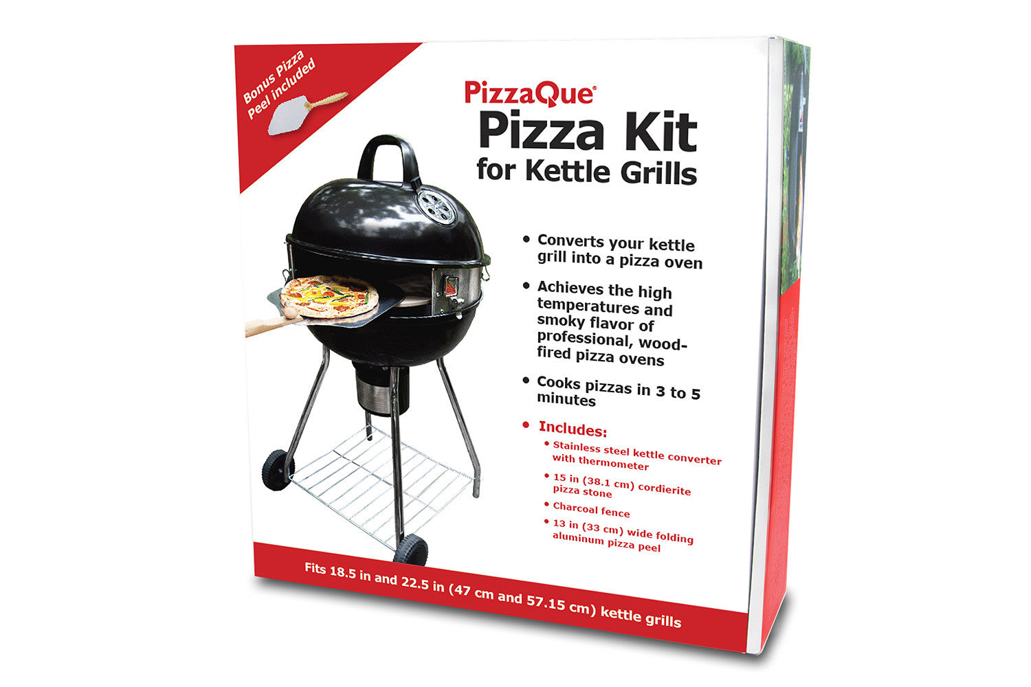 pizzaque pizza kit for kettle grills pizzacraft. Black Bedroom Furniture Sets. Home Design Ideas