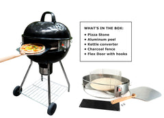 PizzaQue® Pizza Kit for Kettle Grills