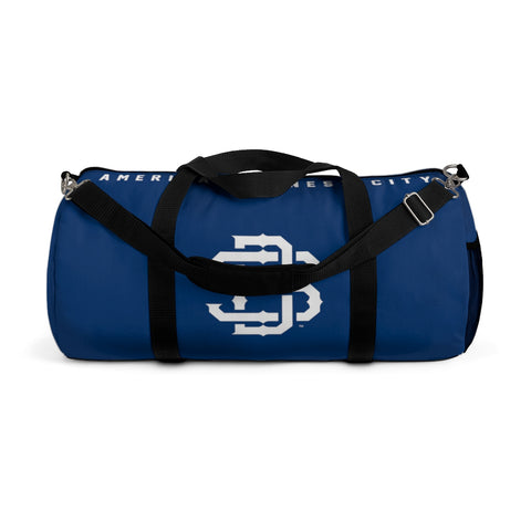 SAN DIEGO Navy Duffel Gym Bag