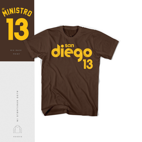 El Ministro 13 Gold Brown