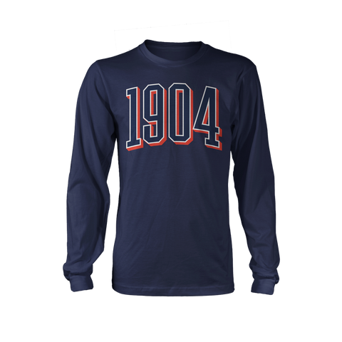 1904 Long Sleeve Navy