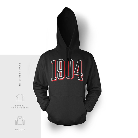 1904 - Red and Black