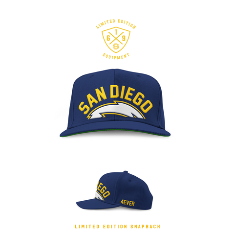 1990 San Diego Forever Navy SnapBack (Limited Release)