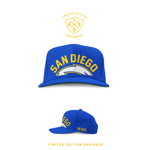 1990 San Diego Forever Royal SnapBack (Limited Release)