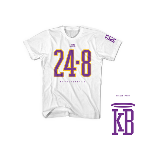 248 White Short Sleeve (Pre-Draft)