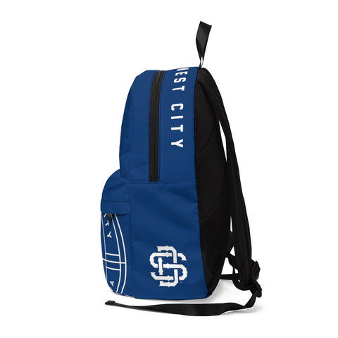 SD Unisex Navy Classic Backpack