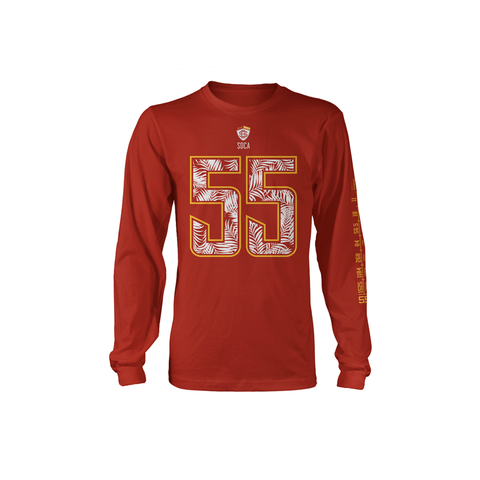4EverAlive 55 Cardinal Long Sleeve