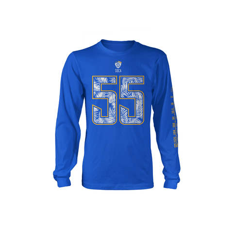 4EverAlive 55 Royal Long Sleeve