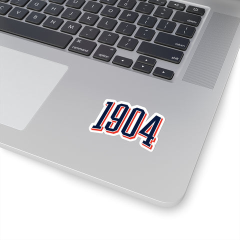 1904 Die-Cut Stickers