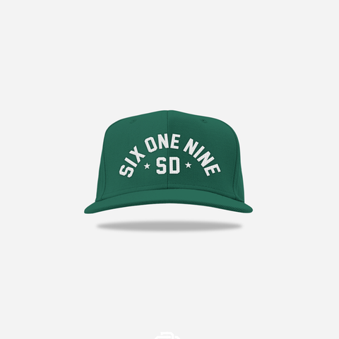 Six One Nine Snapback - Spruce