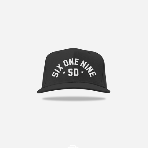 Six One Nine Snapback - Black