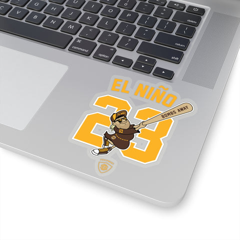 El Niño Die-Cut Stickers