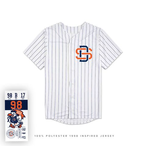 Limited Edition 98 Polyester SD Baseball Jersey