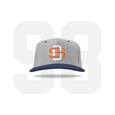 1998 SD Hat (Gray/Navy Pre-draft)