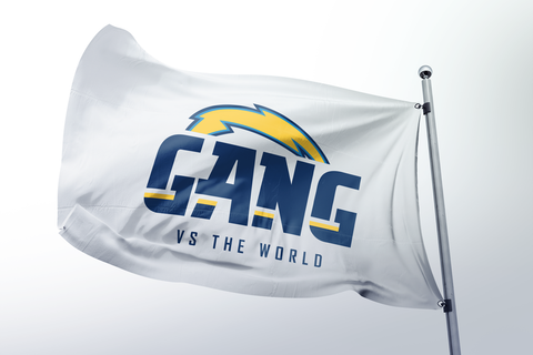 #Gang vs the World  White Flag (only 25 made)