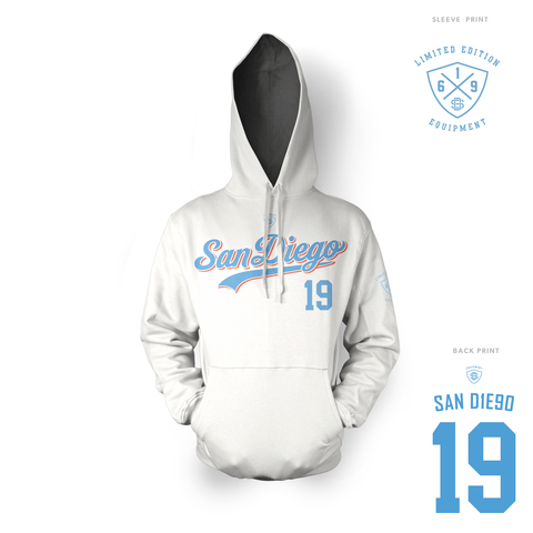 Mr Clipper Hoodie White (Limited Pre-Order)