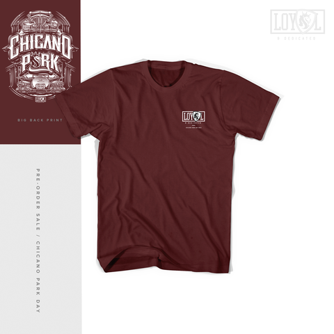 OGABEL X LOYAL CPD 2018 (Limited Drop) Maroon