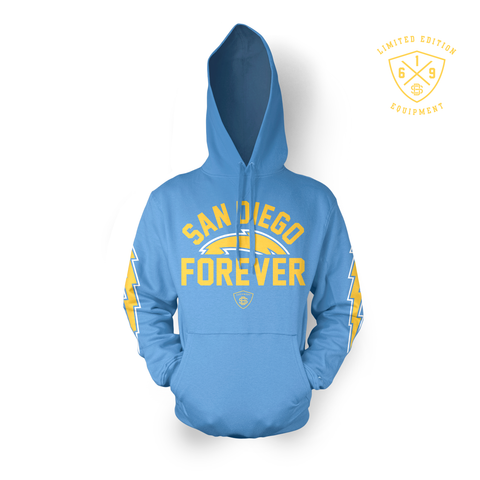 San Diego Forever Hoodie Pullover (Powder Blue)