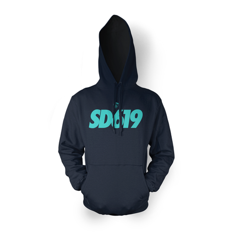 SD619 Hood Navy Mint (Pre-Draft)