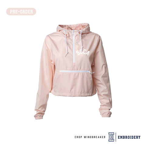 SDCA Ladies Crop Windbreaker (Pre-Order)