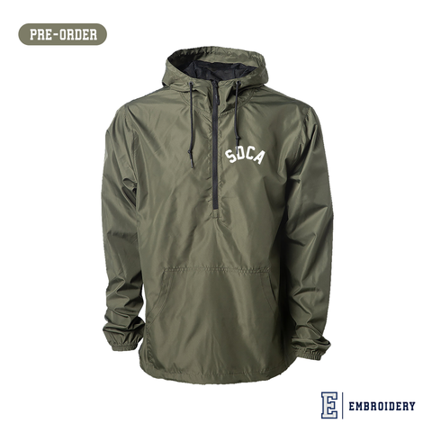SDCA Pullover Hunter Windbreaker