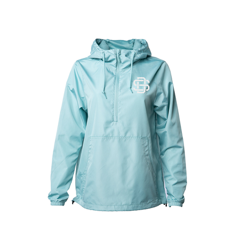 Premium Aqua SD Windbreaker Pullover Jacket