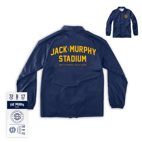 The Murph - Coaches Jacket (Gold Ink)
