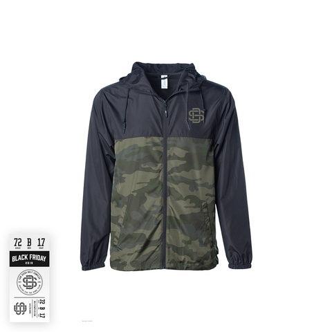 SD17 Windbreaker - Camo Black (Pre-Draft)