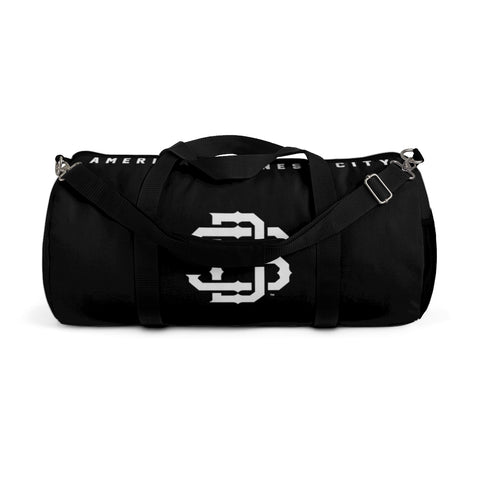 SAN DIEGO Black Duffel Gym Bag