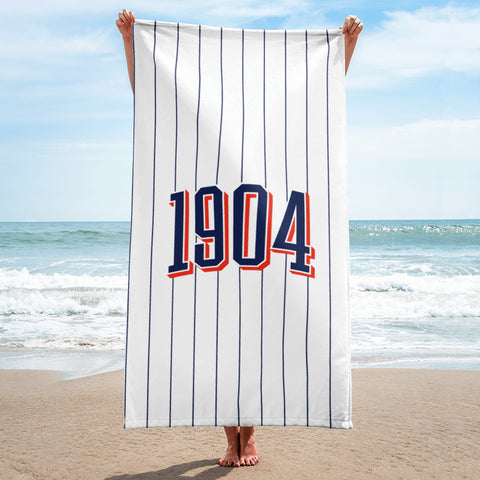 1904 San Diego Beach Towel